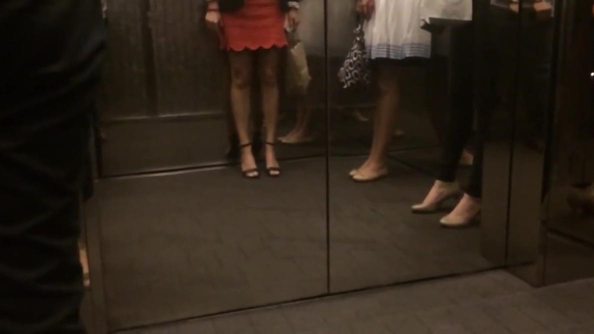Business girls legs