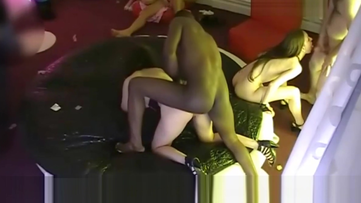 Hidden cam in a French swingers club! Part52