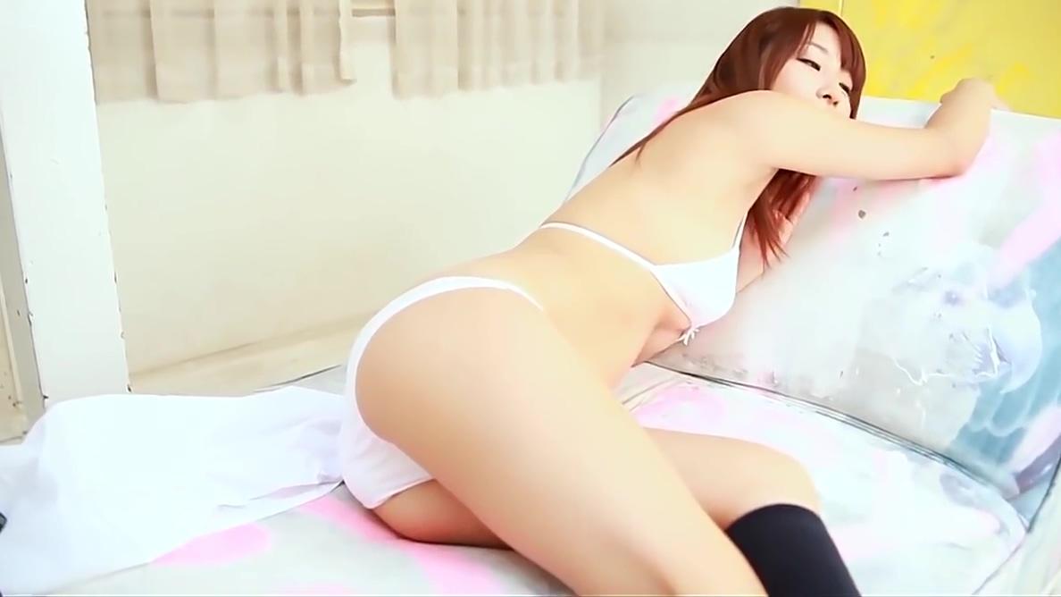 Softcore beautiful asian schoolgirl skirt tease