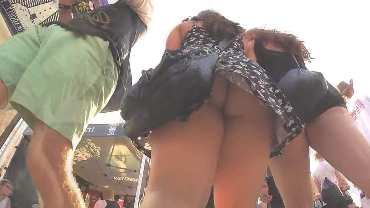 Brunette Upskirt (2 for 1)