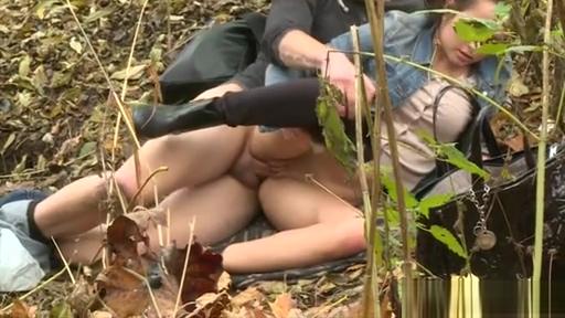 Outdoor voyeur video