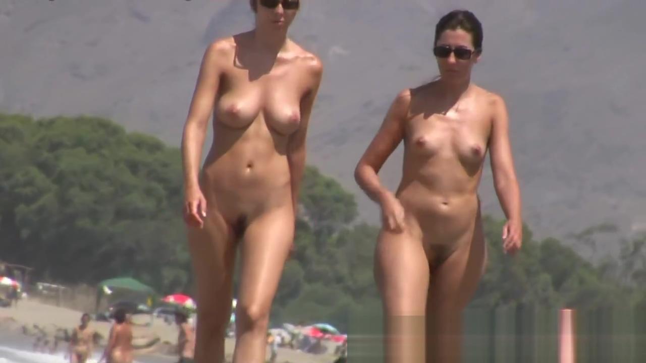 Nudist beach voyeur preys on hot women