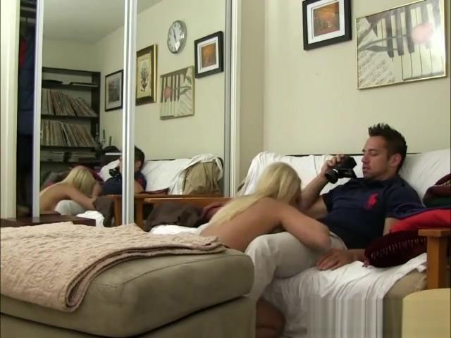 Blonde Gives Fantastic Blowjob On Hidden Camera