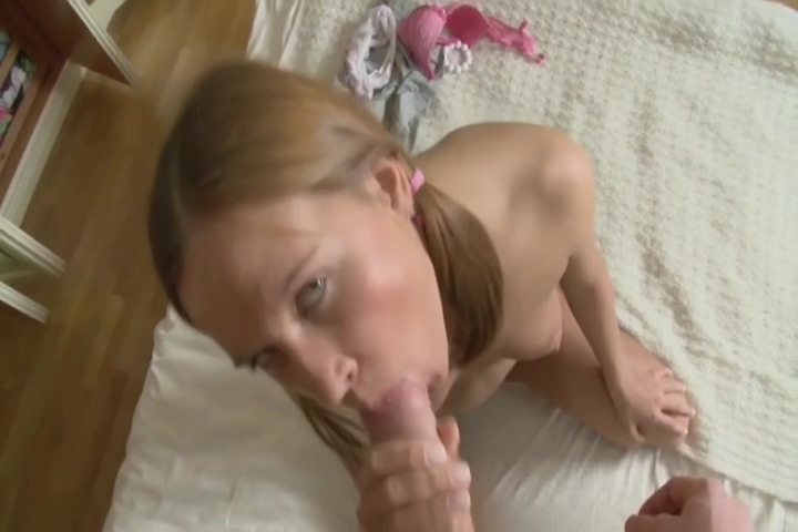 Hot Blonde Alyssa Loves To Get Her Pussy Eaten