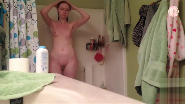 Blonde In Bathroom