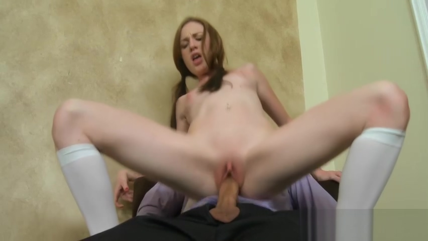 Naughty cowgirl riding after explicit tits groping