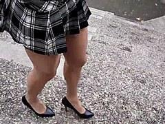 Travesti walking