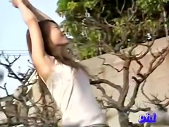 Various oriental babes caught on spy cam in great downblouse video
