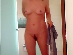 On the way to the shower