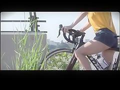 Braless Bicycling BVR