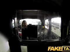 FakeTaxi: Sexy blond tourist in 1st time fellatio