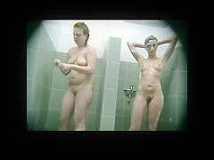 Hidden Cam In Public Shower BVR