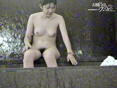 Wonderful hairy cunts view from showering Asian girls dvd 03026