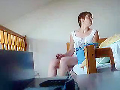 My wife nude on hidden cam