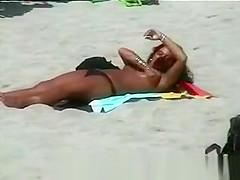 On the Beach Rubbing