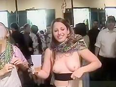 Crazy girls flashing their tits