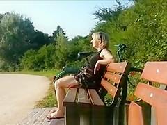 Cum for Milf in Park