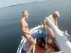 Fun while sailing