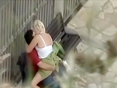 Student Spying An Older Couples Sex