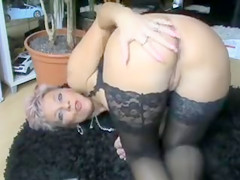 Hot Mature Woman Shows Her Nice Ass on Camera