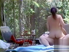 Luscious babe sucks and jumps on a fat dick