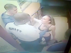 Drunken woman had quarrel with security guys
