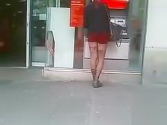 In love with hot legs in public