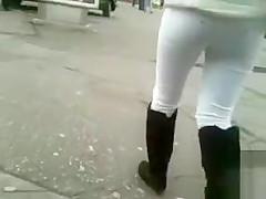 Public wanking and cumming on strangers