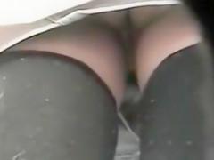 She had no underwear at all!
