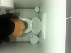 Toilet ceiling cam films girls pissing