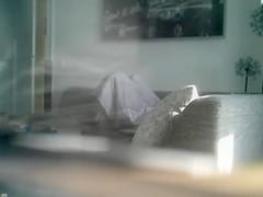 Under a blanket masturbation with my stepsister