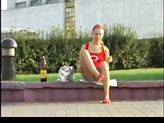 Upskirt on Legal Age Teenager BVR