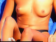 Topless Bikini Beach Babes Hidden Cam Voyeur HD Video