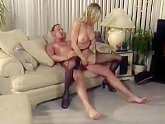 Sexy blonde spreads legs and gets her tight wet twat tasted