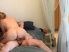 Nephew inlaw caught peeping fucks horny aunt inlaw - Erin Electra