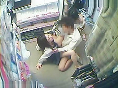 Two Hotties Asian Teen Store Fucking