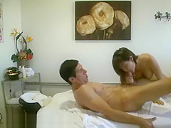 A Chinese Therapist Sucking A Clients Stiff Dick