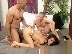 Gorgeous cuckold bride gets it doggystyle