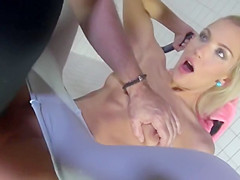 German Teen takes the old cock