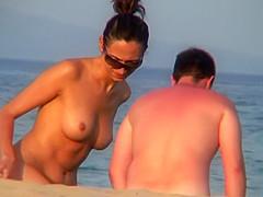 Shaved PUSSY Spy Nude Beach Voyeur Amateurs Video