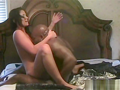 Brunette Caught With Black Lover On Totally Hidden Camera