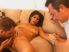 Married Guy Watches His Wife Get Oral With Another Man