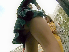 upskirt to schoolgirl perfect round ass 2