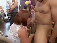 Office MILF cocksucking lucky stripper