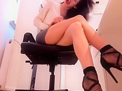 sexy sescretary upskirt footfetish heels Her Perosnal Page www.xcams.sitew/h4