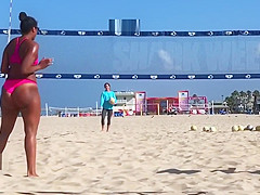 Beach Volleyball Big Ass