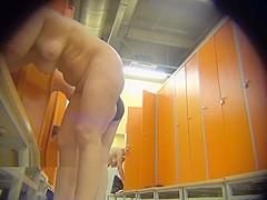 spycam voyeur locker room milfs changing