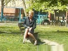 beautie teens pissing in public