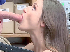 LP Officer doggystyle fuck Kenzy Ryans tight vagina!
