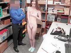 Tali Dova Pumps that tight pussy on top of the LP Officer!